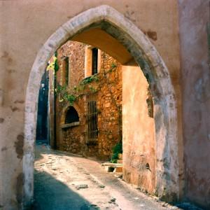 Narrow Street in Provence